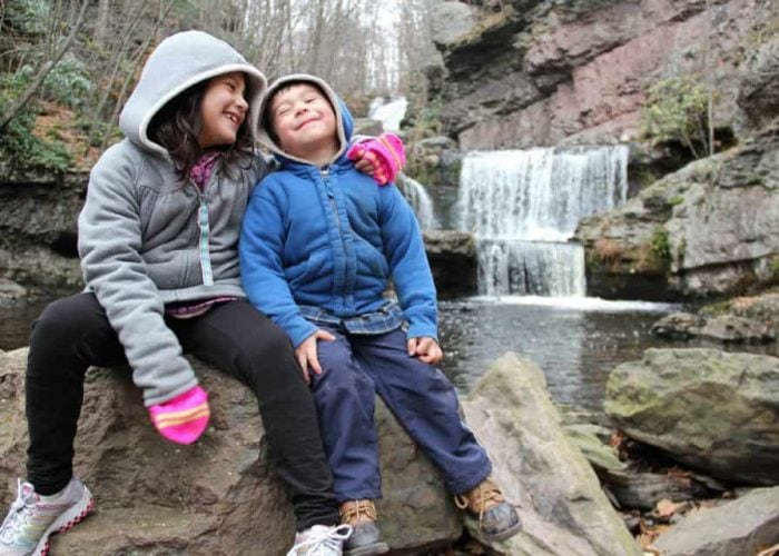 Easy Waterfall Hikes in the Poconos for the Whole Family