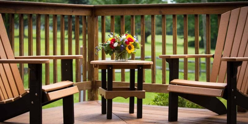 Streamside Cottage King Patio | Streamside Cottage Rooms | Skytop Lodge