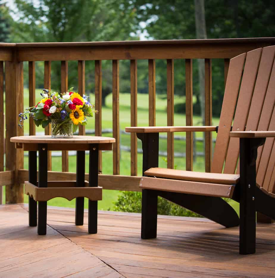 Skytop Lodge Streamside Cottage Deck