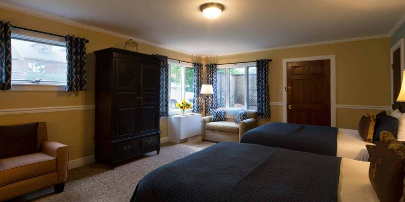 Cottage Double Room | Rooms at The Cottages | Skytop Lodge