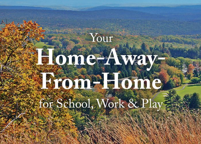 School, Work and Play at Skytop Lodge | Poconos
