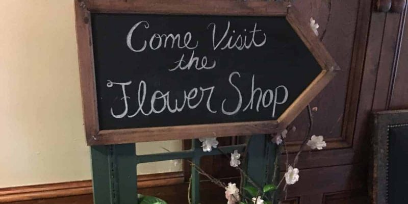 Visit the Skytop Lodge Flower Shop on the lower level of the Main Lodge
