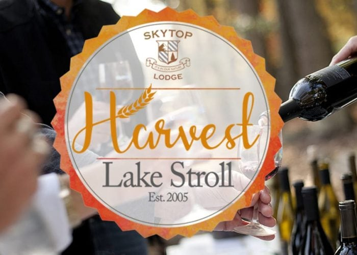 Harvest Lake Stroll at Skytop Lodge | Skytop Lodge Activities & Events