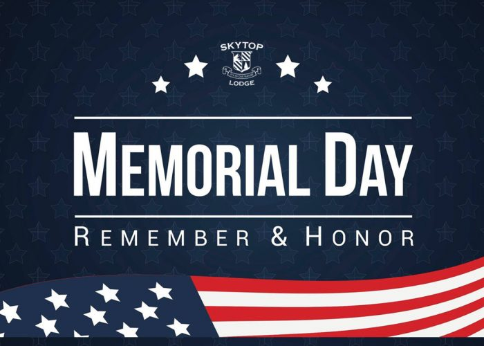 Memorial Day | Events at Skytop Lodge