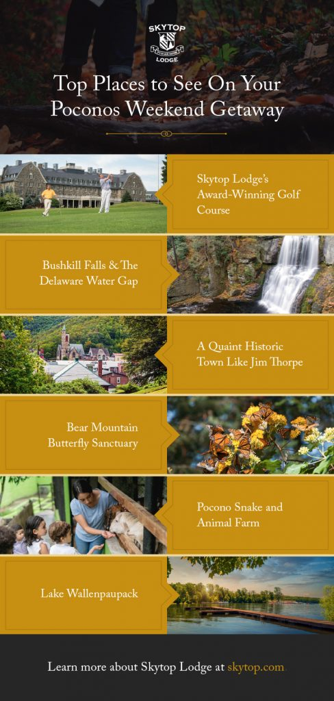 Top Places to See On Your Poconos Weekend Getaway