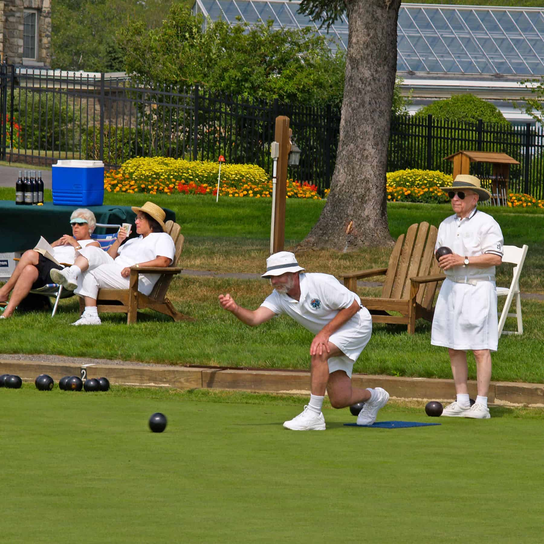 Lawn Bowling at Skytop Lodge | Activities & Adventures | Skytop Lodge Photo Gallery