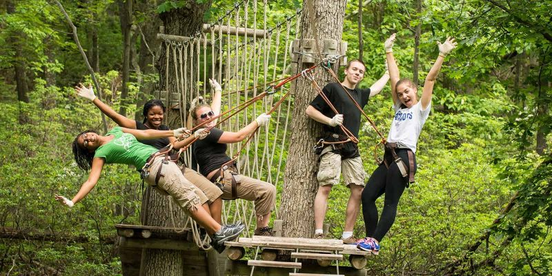 Tree Top Course | Adventure Center | Acitvities | Skytop Lodge