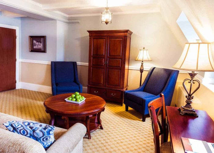 Grand Suite Room | Suites at The Lodge at Skytop | Skytop Lodge