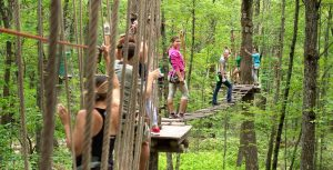 Treetop Adventure Course (Half) | Activities at Skytop Lodge
